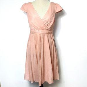 New J. Crew Misty Rose Bridesmaid Dress Size 4